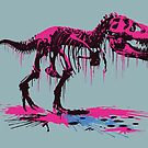 Drip Dry T-Rex by Chris Jackson