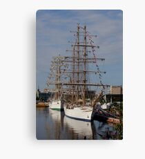 Tall Ships In Baltimore - 1 Canvas Print