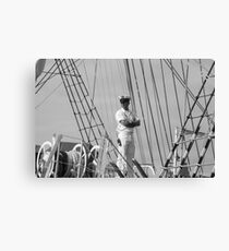 Tall Ships In Baltimore - 4 Canvas Print