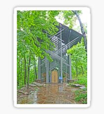 Thorncrown Chapel, Eureka Springs Sticker