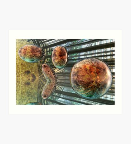 Evolution of Spheres Art Print