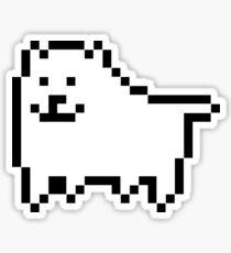 undertale - annoying dog Sticker