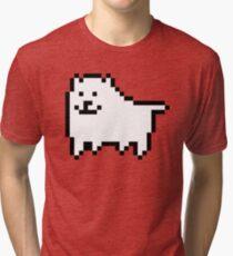 undertale - annoying dog Tri-blend T-Shirt