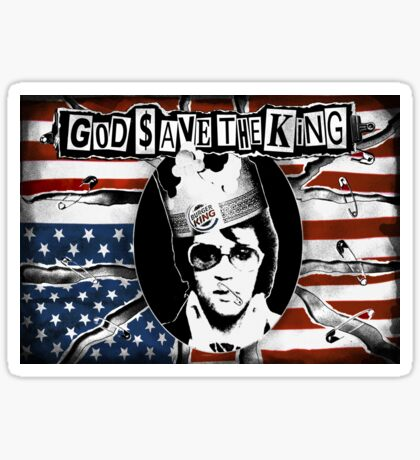 God Save The King Sticker