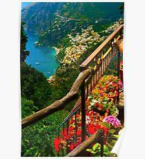 Amalfi Coast, Italy. Poster