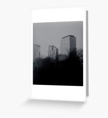 concrete forests Greeting Card