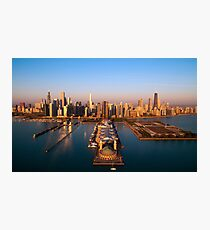 Chicago by Air Photographic Print