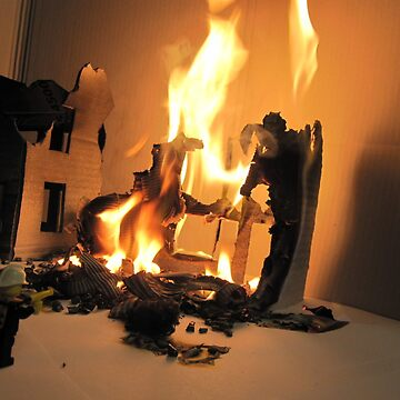Lego Fire by HeatWave
