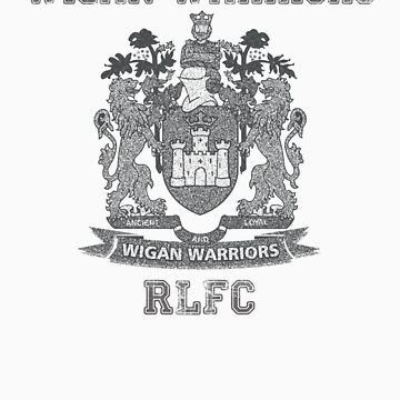 Wigan Warriors T-Shirt by Tokyokee