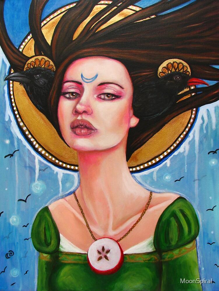 Morgan Le Fay by MoonSpiral