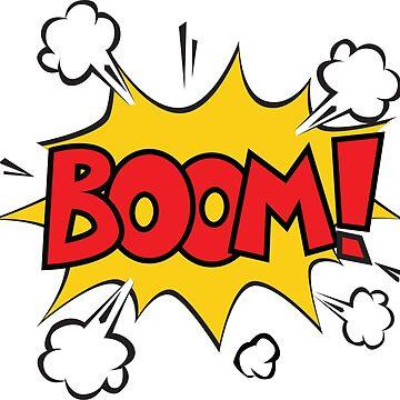 COMIC BOOK: BOOM! by MDRMDRMDR