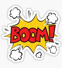 COMIC BOOK: BOOM! Sticker