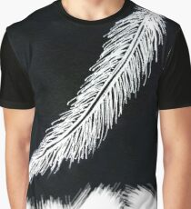 White Feather Graphic T-Shirt