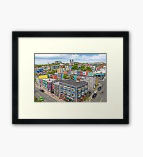 The City of 10,000 Colours Framed Print