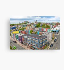The City of 10,000 Colours Canvas Print