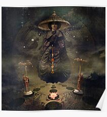 Banks of Eden - Night (unused) Poster