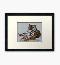 Tiger Painting  Framed Print