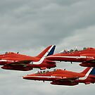 Red Arrows by Matt Sillence