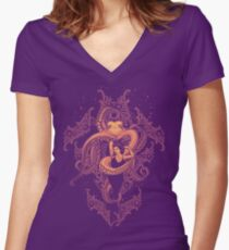 Suckered In Women's Fitted V-Neck T-Shirt