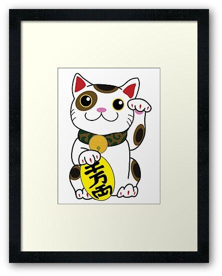 Lucky Cat by ArtFr33k