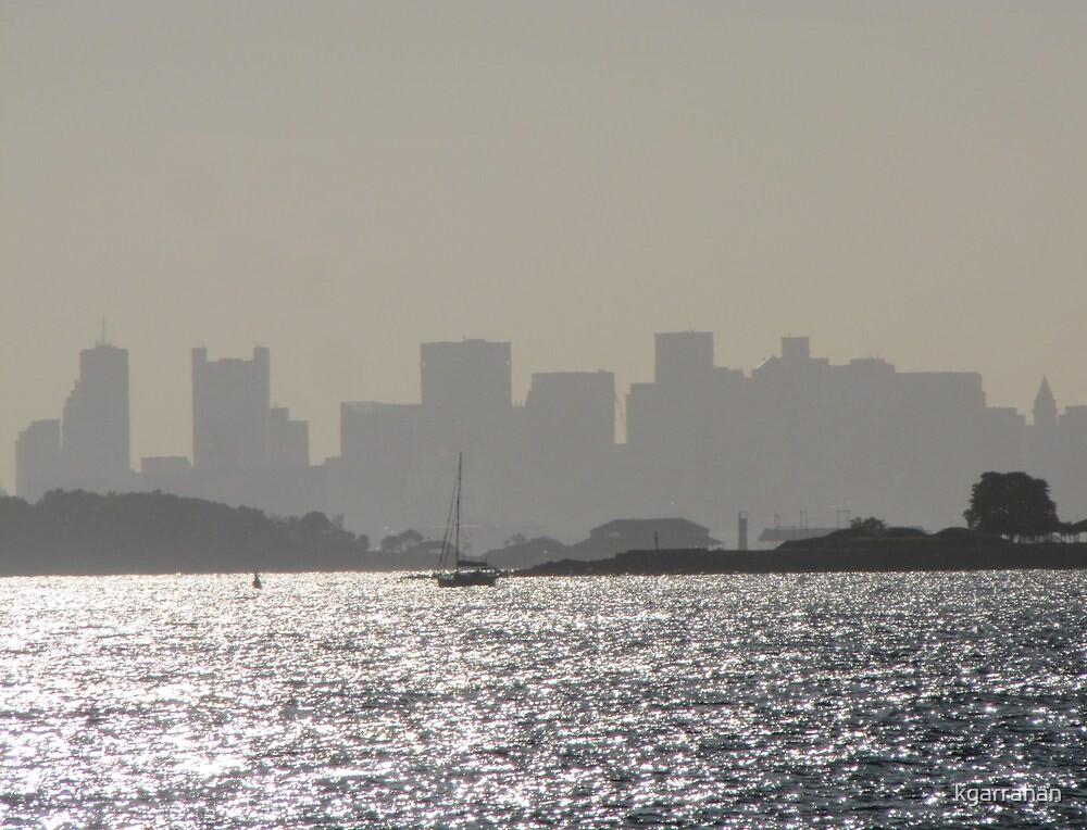 BostonSkyline from Hull by kgarrahan