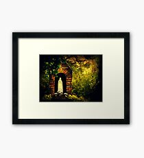 Blessed Assurance Framed Print