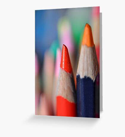 The sharpest pencil in the top drawer! Greeting Card