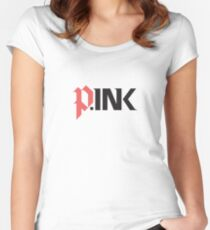 P.ink logo swag Women's Fitted Scoop T-Shirt