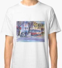 Straßenbahn in den Stränden, Toronto Classic T-Shirt