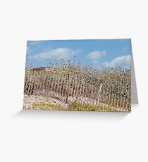 Dune Decoration Greeting Card