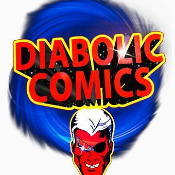 DIABOLIC COMICS mascot by twolanetommy
