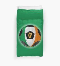 Ireland - Irish Flag - Football or Soccer Duvet Cover