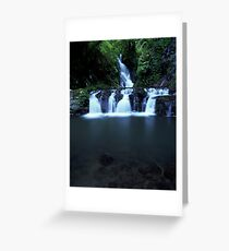 """Elabana Falls"" ∞ Lamington National Park, QLD - Australia Greeting Card"