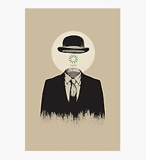 Magritte | The Loading of Man Photographic Print
