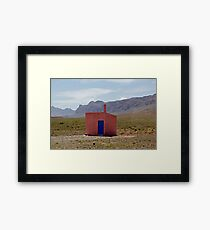 Location Location Framed Print
