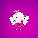 Cute Angel by Media Jamshidi
