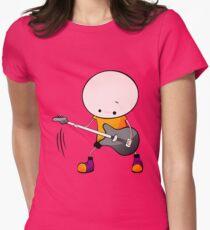 Rockstar Boy Womens Fitted T-Shirt