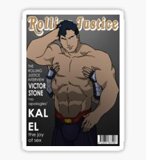Rolling Justice Sticker
