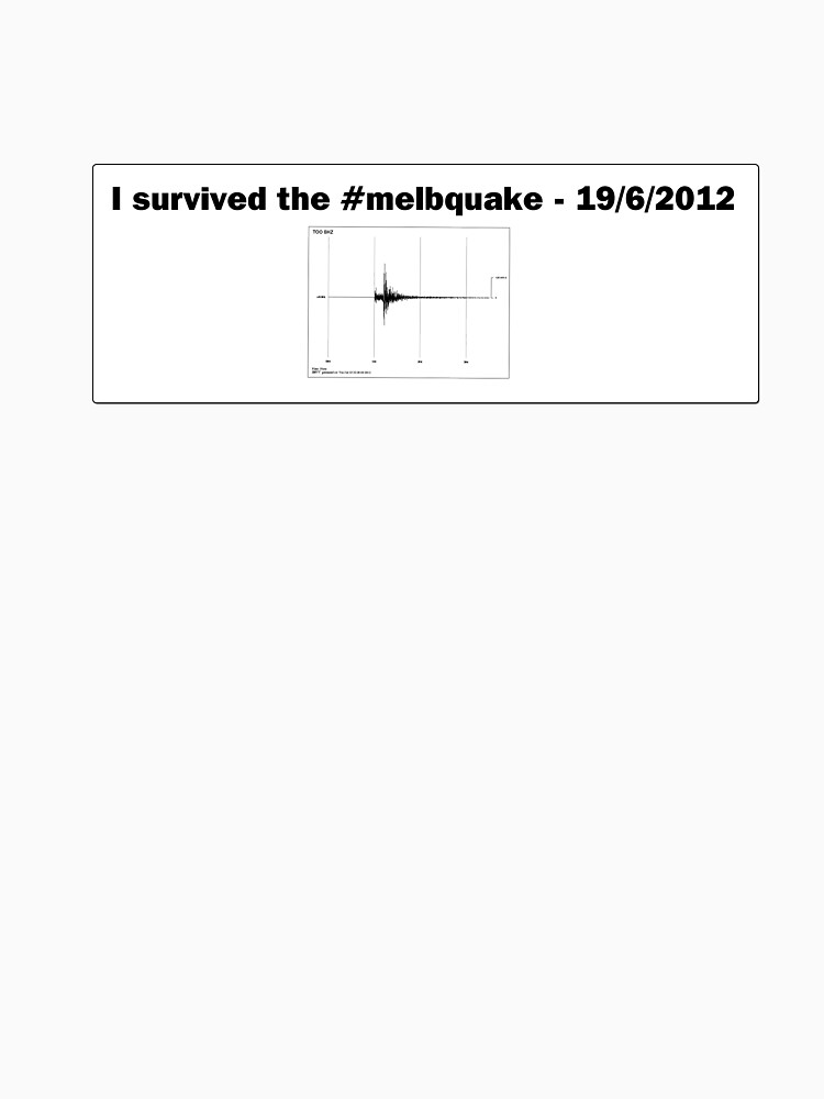 I survived the #melbquake - 19/6/2012 by wolfcat