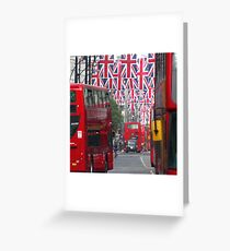 Getting ready for the Queen's Diamond Jubilee Greeting Card