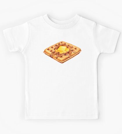 Waffle Pattern Kids Clothes
