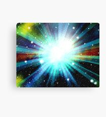 Light Fantasy Galaxy Art Design Abstract Canvas Print