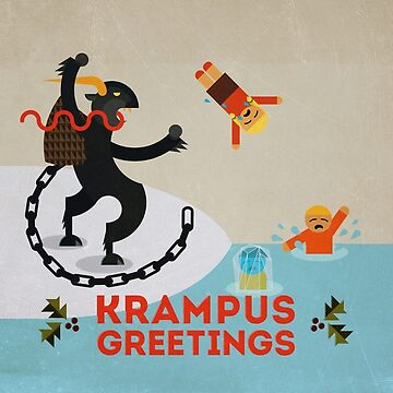 Krampus Greetings III by Tiki2