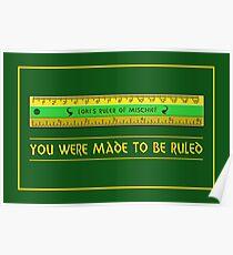 Loki's Ruler of Mischief Poster