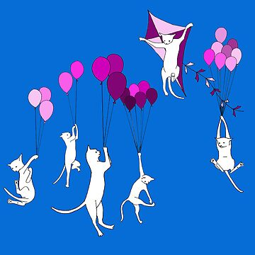 Flying Cats by jamface