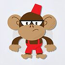 Grumpy Monkey by Paul Mitchell