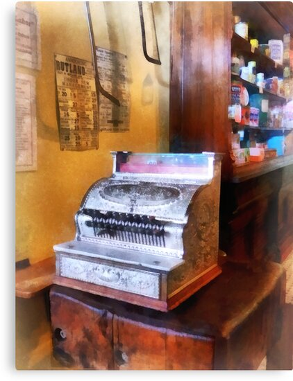 Grocery Store Cash Register by Susan Savad
