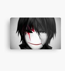 Darker than Black Metal Print