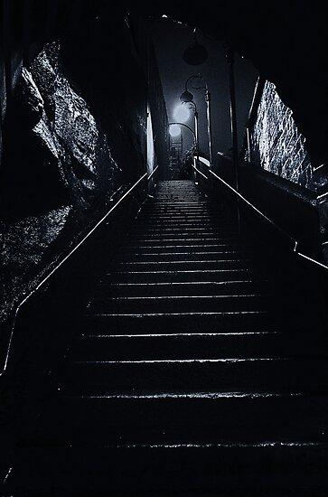 Darkness amongst the light. by Darren  Rooney