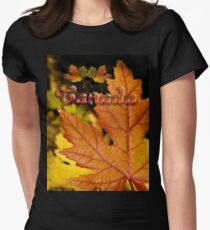 Ties of Love ~ Canada Day Womens Fitted T-Shirt